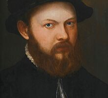 Netherlandish School, second half of the 16th century PORTRAIT OF A BEARDED MAN, BUST-LENGTH, WEARING A BLACK COSTUME AND BLACK HAT by Adam Asar