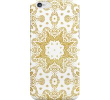 Golden pattern iPhone Case/Skin