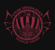 Viking Dragon Boats by Bigmom