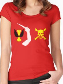 Christopher Moody Pirate Flag Women's Fitted Scoop T-Shirt