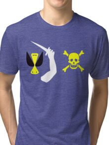 Christopher Moody Pirate Flag Tri-blend T-Shirt
