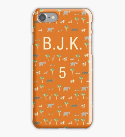 Pattern BJK 5 Darjeeling Limited iPhone Case/Skin