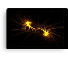 """Twin Flames""  - Fractal Art Canvas Print"