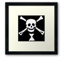 Emanuel Wynn Pirate Flag Framed Print