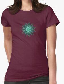 Fractal Flower - Green . T-Shirt