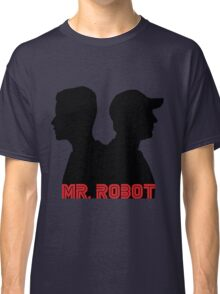 Mr. Robot silhouettes Classic T-Shirt