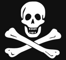 Samuel Bellamy Pirate Flag Kids Tee
