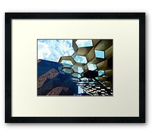 Federation Square Architecture Framed Print