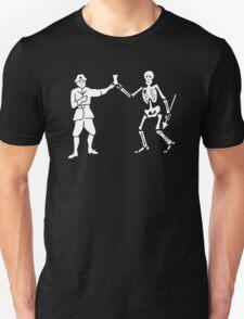 Black Bart Pirate Flag T-Shirt