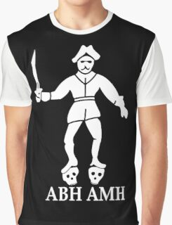 Bartholomew Roberts Pirate Flag Graphic T-Shirt