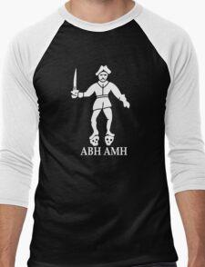Bartholomew Roberts Pirate Flag Men's Baseball ¾ T-Shirt