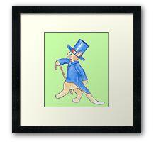 Mr Ginger Meggsie Framed Print