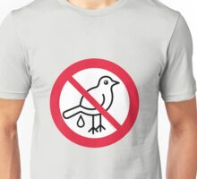 No Guano! ... It's Strictly Forbidden!  Unisex T-Shirt