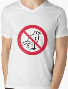 No Guano! ... It's Strictly Forbidden!  Mens V-Neck T-Shirt