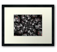 Shattered Glass Framed Print