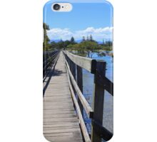 The Boardwalk at Urunga iPhone Case/Skin