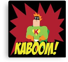 Kaboom guy  Canvas Print