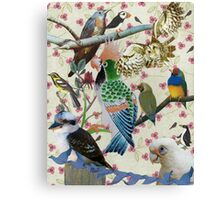 Pretty Birdies Canvas Print