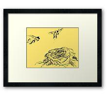 Anthophila Framed Print