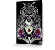 Mistress of Evil Greeting Card