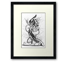 Master of Fate Framed Print
