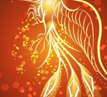Rising phoenix Sticker