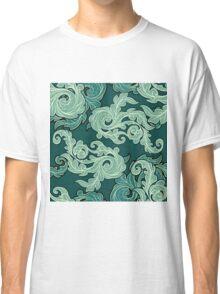 Ornate  leaves pattern Classic T-Shirt