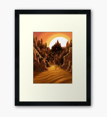Iron Gate Framed Print