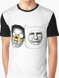 Jeff the Dog, Larry the Human Graphic T-Shirt