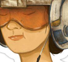 Rey (Rebel Pilot Helmet) Sticker