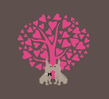 Kissing French Bulldogs! Cute Valentines Day Design T-Shirt