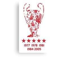 Liverpool FC - Champions League Winners Canvas Print