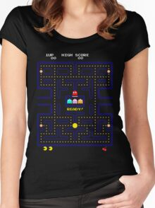 Arcade game Women's Fitted Scoop T-Shirt