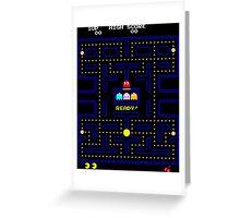 Arcade game Greeting Card