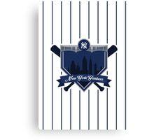 New York Yankees - Badge / Alternate Logo Canvas Print