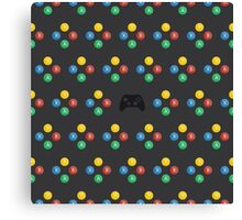 XBOX One Pattern Canvas Print
