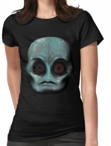 The EYES... a window to the soul. Womens Fitted T-Shirt