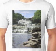 Aysgarth Lower Falls, Yorkshire Unisex T-Shirt