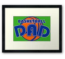 Basketball Dad Framed Print