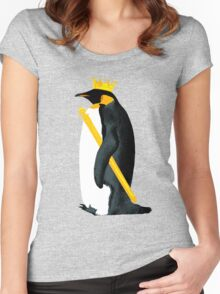 Emperor Penguin Women's Fitted Scoop T-Shirt