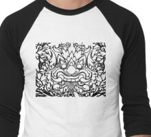 Dragon Head - Khmer Style Men's Baseball ¾ T-Shirt