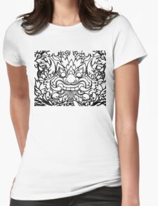 Dragon Head - Khmer Style Womens Fitted T-Shirt