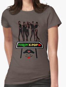 ♥♫Follow K-Pop Splendiferous K-Pop Clothing & Phone/iPad/Tablet/Laptop Cases & Stickers & Bags & Home Decor & Stationary♪♥ Womens Fitted T-Shirt