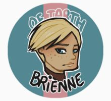 Chibi Brienne of Tarth - Round Sticker 01 by BlackLemonJuice