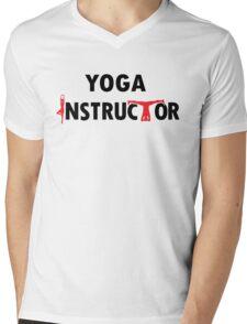 Yoga Instructor Mens V-Neck T-Shirt