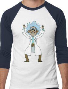 Tiny Rick Men's Baseball ¾ T-Shirt
