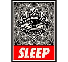 Sleep eye conspiracy always watch Photographic Print
