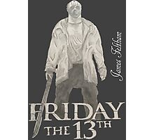 Hand Drawn Friday The 13th Design Photographic Print