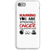 OUAT Oncer T-Shirt iPhone Case/Skin