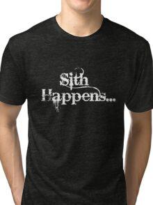 Sith Happens... Tri-blend T-Shirt